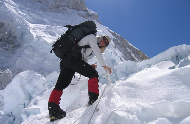 Paul's Climb of Mt Everest (2007)